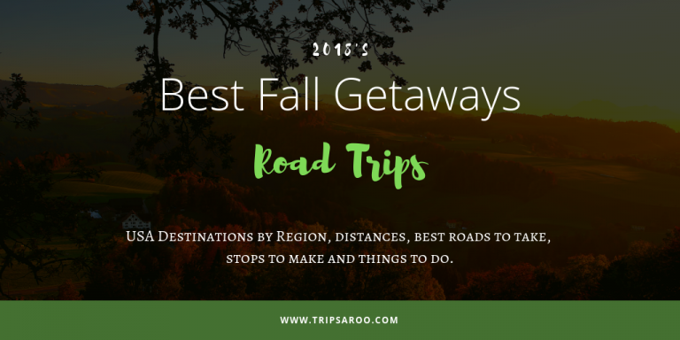 best fall getaways road trips