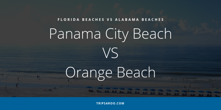 Panama City Beach vs Orange Beach