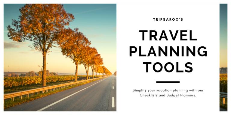Travel planning tools