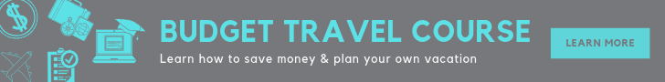 Budget travel course